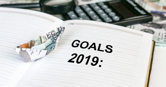 Financial Goals for Each Month of 2019